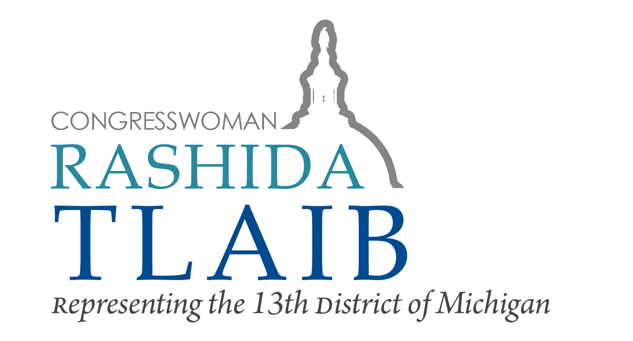 Representative Rashida Tlaib | Representing the 13th District of